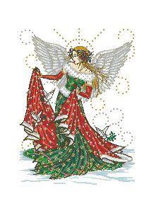 Схема Зимний ангел