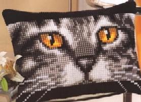 Схема Прямоугольная подушка. Кошка