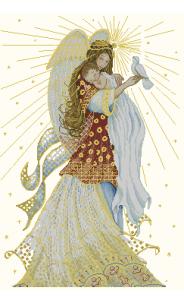 Бесплатно схемы вышивки ангел хранитель