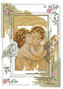 Схема Поцелуй ангелов