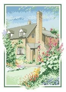 Схема Шток-коттедж / Hollyhock Cottage