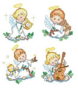 Схема Четыре ангелочка