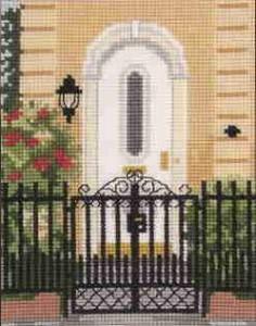 Схема Городской сад, ворота