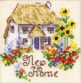 Схема Новый дом / Craft Creations — Special Sentiments — New Home