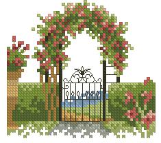 Схема Ворота сада