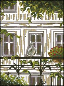Схема Гость на балконе