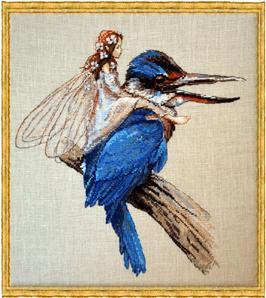Схема Фея на птице