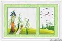 Схема Детские часики