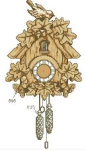 Схема Часы с кукушкой