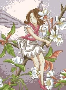 Схема Фея / Wild Cherry Blossom Fairy