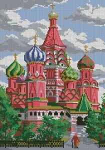 Схема Собор Василия Блаженного