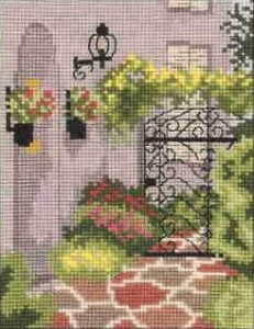Схема Городской сад, фонарь