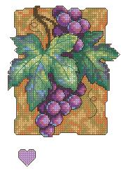 Схема Синий виноград
