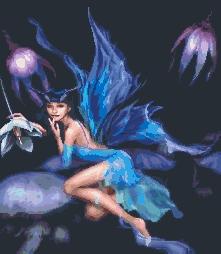 Схема Голубая фея