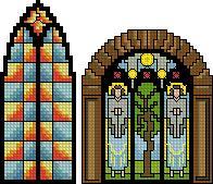 Схема Готические окна / Gothic Windows
