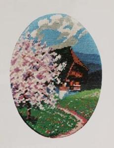 Схема Весна в горах / Spring in the Mountains