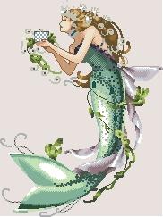 Схема Королева русалок / The queen mermaid