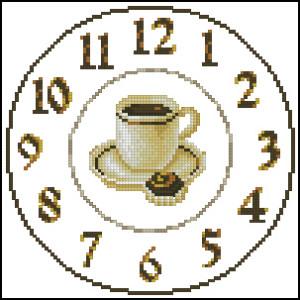Схема Время для кофе