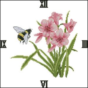 Схема Пчела и цветы