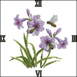 Схема Пчелы и цветы