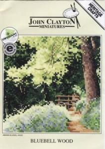 Схема Лесной колокольчик / Bluebell Wood