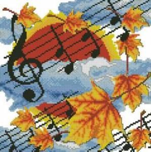 Схема Осенняя мелодия