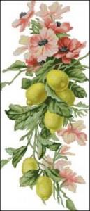 Схема Композиция с лимонами
