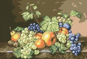 Схема Натюрморт / Natura cu Fructe