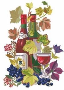 Схема Красное вино