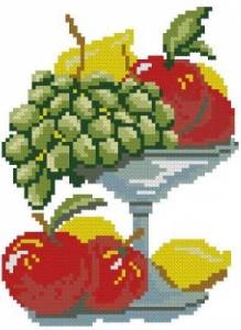 Схема Ваза с фруктами