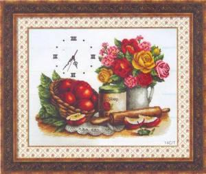 Схема Часы Свежий ужин / Fresh Kitchen