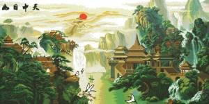Схема Китайская краса