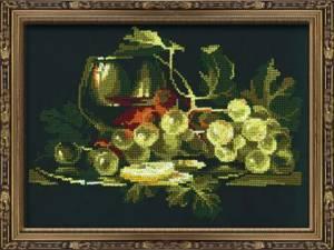 Схема Натюрморт с виноградом