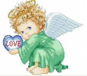 Схема Ангелочек-мальчик