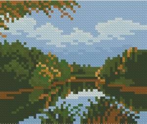 Схема Старый пруд / The Old Pond