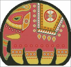 Схема Подушка Слон