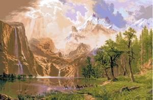Схема Пейзаж / Sierra Nevada