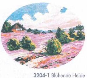 Схема Цветущий вереск / Bluhende Heide