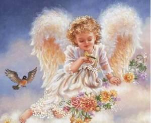 Схема Ангел на облаке