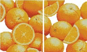 Схема Оранжевая скатерть