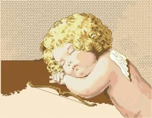 Схема Спящий ангелочек