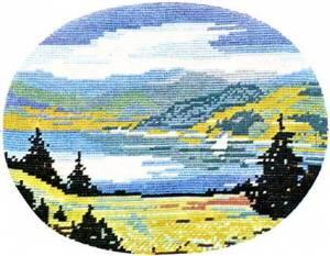 Схема Горное озеро / Bergsee
