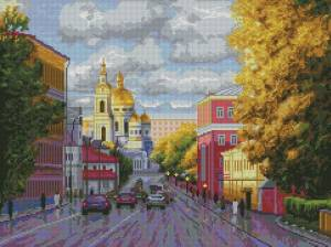 Схема Московский проспект