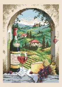 Схема Натюрморт. Вино / Dreaming of Tuscany