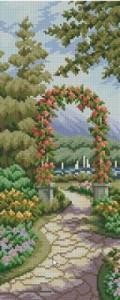 Схема Прекрасный сад, арка
