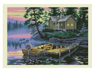 Схема Утреннее озеро
