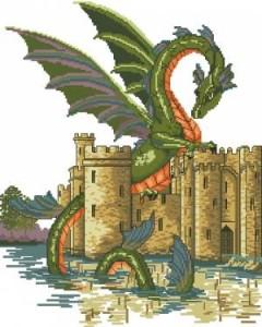 Схема Дракон-воин
