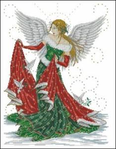 Схема Рождественская фея