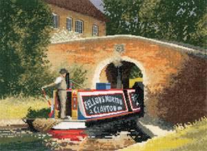 Схема Речной трамвайчик под мостом