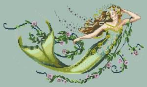 Схема Изумрудная русалка / Emerald Mermaid